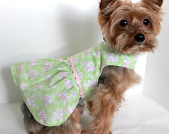 Easter Dog Dress, SX and Small Easter Bunny, designer Dresses for dogs, Holiday Pet Clothing, Fashion Dog Clothes
