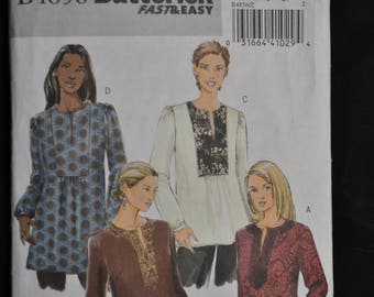 Misses's Tunic - Fast & Easy - Large/Ex-Large - Butterick 4856