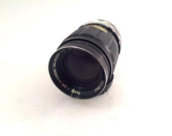 Petri 135mm f/3.5 CC Auto Lens