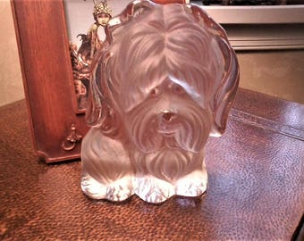 Crystal Terrier Bookend by Viking USA