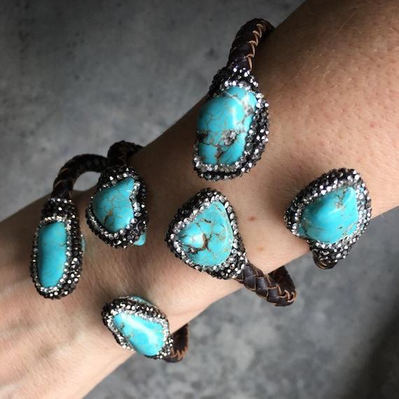 Turquoise Cuffs bracelets