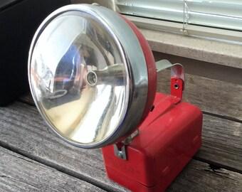 Vintage Red Flashlight