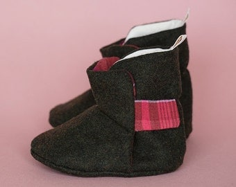 Oppi Baby Boots - Happy Pink Boots