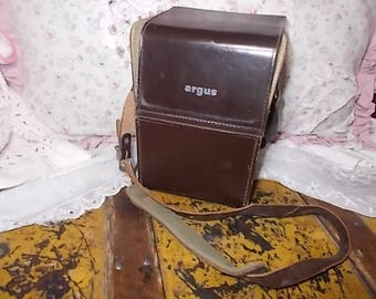 Argus Camera Case, Camera Case, Vintage Camera Case, Vintage home Decor, :)s*