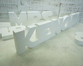 Star Wars wedding Mr and Mrs with name, Wedding Sign Mr & Mrs wooden letters table decor Wedding gift