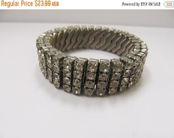 On Sale 4 Row Stretch Rhinestone Bracelet Item K # 668