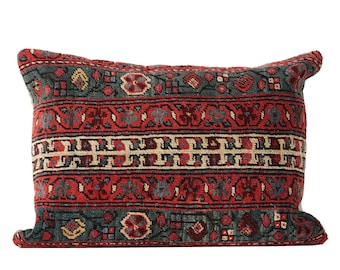 "19"" x 25"" Pillow Cover Kilim Pillow Vintage Kilim Pillow Handmade Carpet Pillow FAST SHIPMENT with ups or fedex - 08078"
