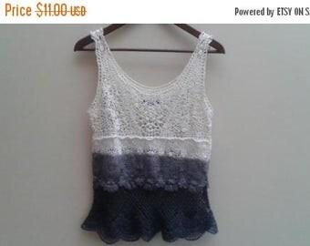 SALE Crochet Ombre Tank top Lace American Eagle S Small