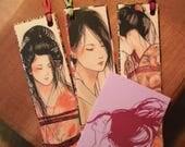 """Japanese Erotic Art """"Kinbaku"""" 3 Bookmarks&1MiniCard"""