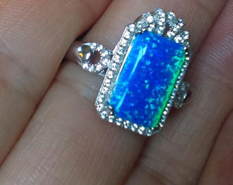 Vintage Opal Right Hand Ring