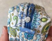 Mini Flower Zipper Charms, Flower Zipper Pulls,