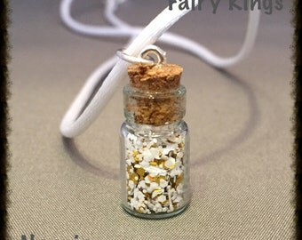 Narnia Twinkly Sparkles Bottle Charm Necklace