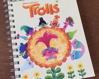 Trolls Little Golden Book Recycled Journal Notebook