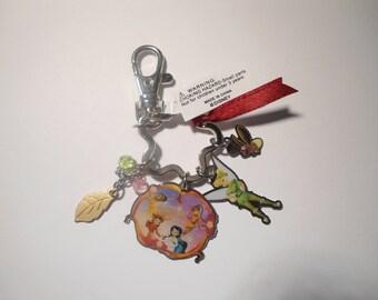 2 Vintage Disney Peter Pan Key Rings Key Chains