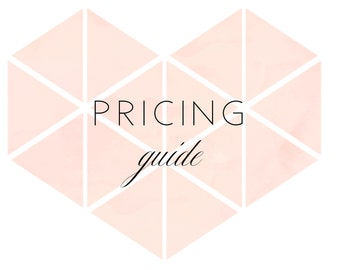 WELCOME GUIDE #04 - Pricing