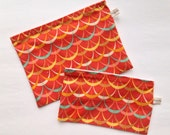 Cloth Snack and Sandwich Bag Set