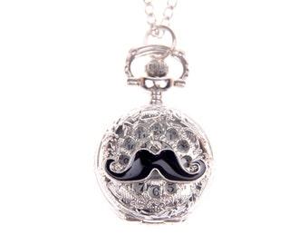 Necklace Pocket watch branche