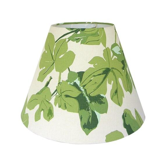 green lamp shade custom lamp shade fig leaf by peter dunham fig leaf shade fabric lampshade table lamp shade drum lampshade