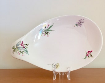 Vintage Eva Zeisel for Hallcraft Serving Platter -- Bouquet