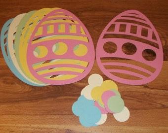 Eater Egg Cutout Shapes