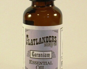 Pure Geranium Essential Oil - 30 ml.