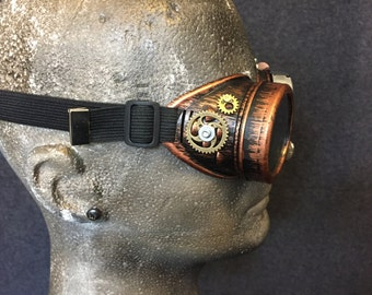 SALE! - Steampunk Goggles- handmade- cosplay costume mad scientist pilot victorian gears