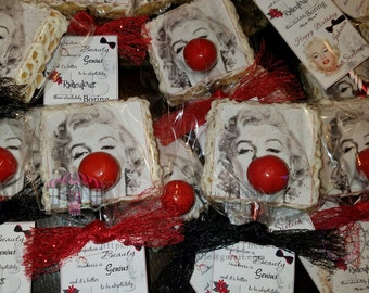 Custom Edible Image Rice Krispie Treats for any Occasion