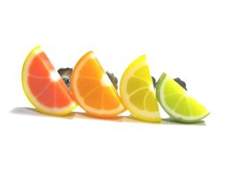 Citrus Stud Earrings Set