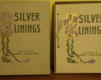 Silver Linings by Everett Thornton Brown (SB, 1912, VG Cond)