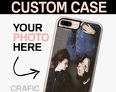 Personalized  iPhone 7 Case, Couple iPhone 7 Plus Case, Your Favorite Picture - Custom iPhone 6 Case