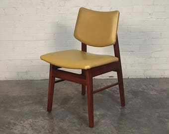 Mid-Century Danish Modern Desk Chair - Style Of Jens Risom ~ SHIPPING NOT INCLUDED