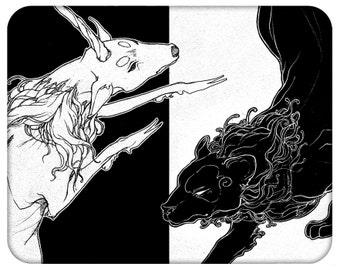 Shy: Lion & the Unicorn (Prints)
