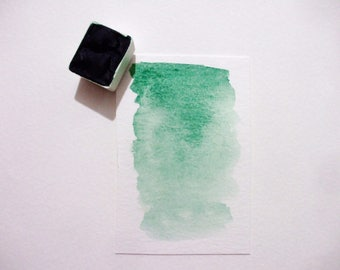 Mayan Green - Handmade Watercolor Paint