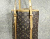 Louis Vuitton Bucket GM Vintage 1997 Handbag Shoulder Bag, Canvas & Cowhide Good Condition, Inside No Peeling or Sticky, Strap Strong to Use