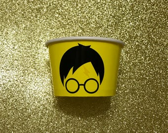 8 oz Harry Potter Candy Party Favor Container Paper Bowl Snack Cup