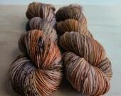 Dyed to Order - Dirty Chai - Hand Dyed Yarn - 100% Superwash or Non-Superwash Merino