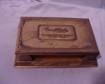 "Antique Advertising Desk Top Paper Note Holder ""ErustoSalts"""
