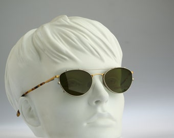 Cerrutti 1881 Mod C 1842 GWM / Vintage sunglasses and eyeglasses / NOS / 90s Rare and unique clip on designer eyewear