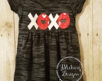 Sample Sale - Toddler Girls 3T Burnout Babydoll - Valentines Dress - Valentines custom shirt