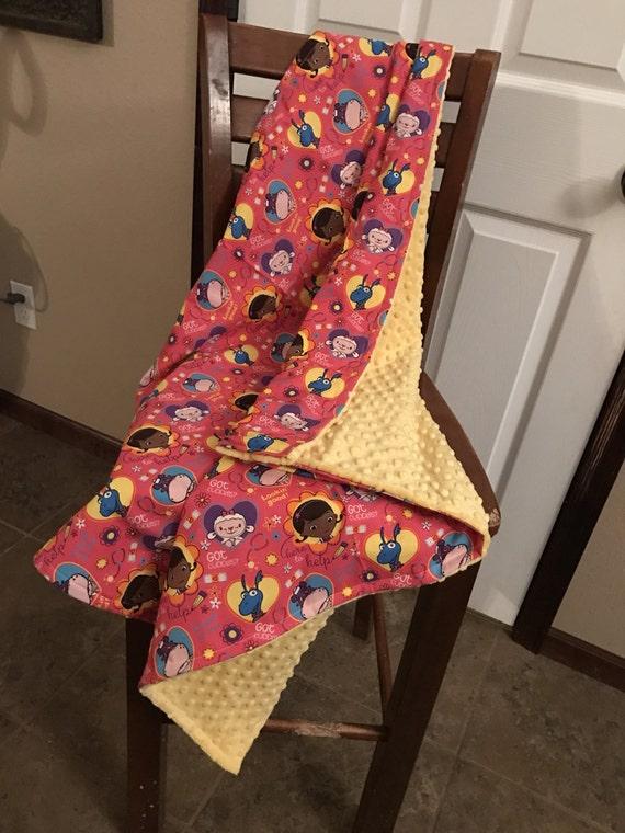 Doc McStuffins minky blanket