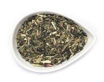 Tulsi - Ayurvedic - Holy Basil - Organic Loose Leaf Tea - Tulsi Tea - Rama Leaf - Green Tea - Wellness Tea