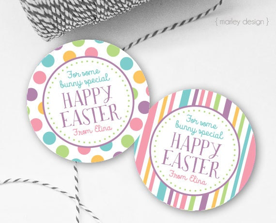 Easter tags printable easter favor tags easter gift tags happy details easter gift negle