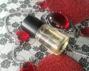 Sinful Love - You Smell Purdy - High Quality Perfume Oil - Vegan - Gothic Goth Dusty Incense Scent - Grapeseed Oil - Organic Oils