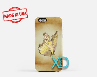 Butterfly Sketch iPhone Case, Butterfly Sketch iPhone 8 Case, iPhone 6s Case, iPhone 7 Case, Phone Case, iPhone X Case, SE Case