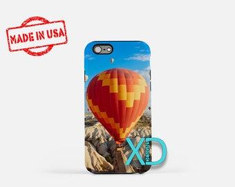 Hot Air Balloon iPhone Case, Festival iPhone Case, Mountain, iPhone 8 Case, iPhone 6s Case, iPhone 7 Case, Phone Case, Safe Case, SE Case