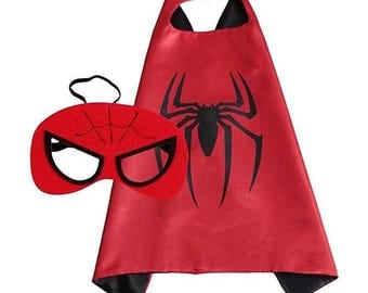 Spiderman Cape and Mask