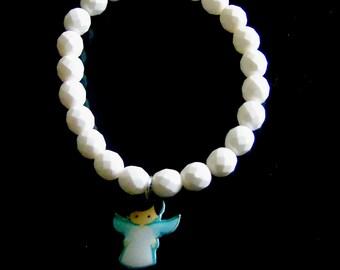 Preciosa Czech Boy Angel Charm Bracelet