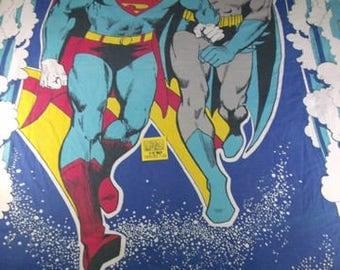1970's DC Comics Batman/Superman Sheet