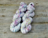 Merino Sock- ANGEL MIST Suzy Parker Yarns -  400m/ 437yards 100grams