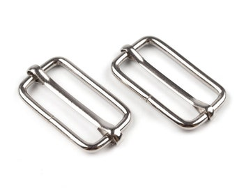 Belt slide, adjuster 25 mm, 2 PCs
